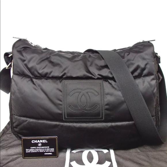 905d90afb705 CHANEL Handbags - Auth Chanel Sports Line Quilting Nylon Crossbody